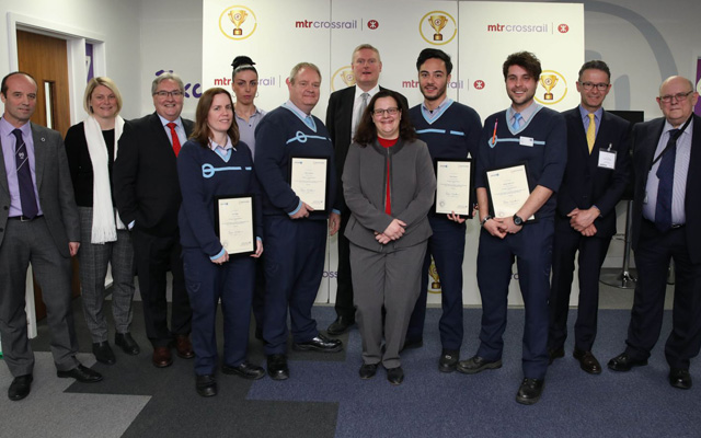 The MTR Crossrail event also celebrated with a group of the first candidates to receive their qualifications following completion of the apprenticeship.