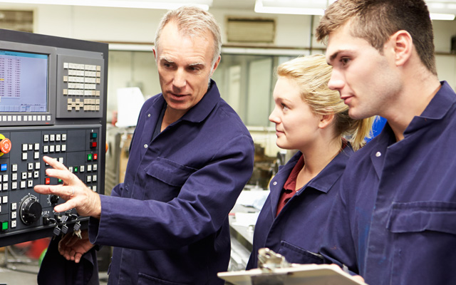The Modern Apprenticeship in Engineering has a number of different pathways that learners can take.